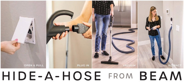 Hide-a-Hose Management System